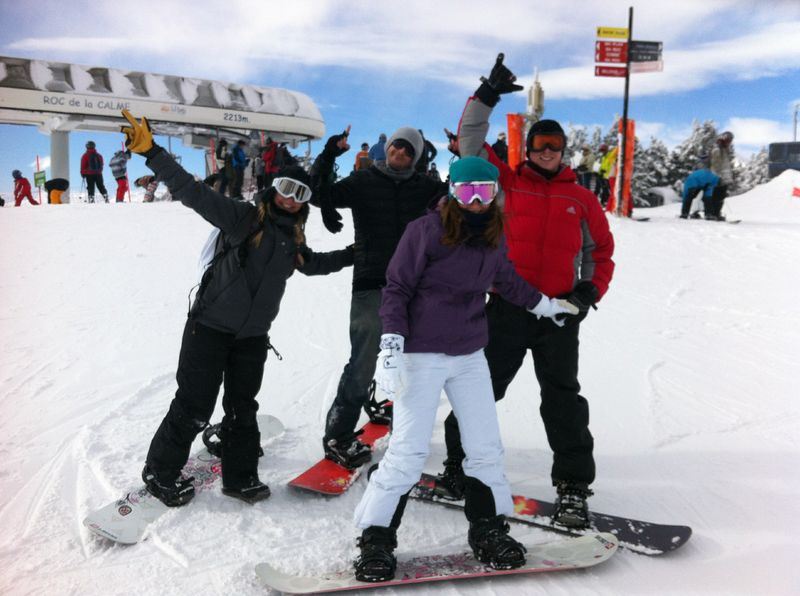 Snowboarding in the Pyrenees – Barcelona has Everything